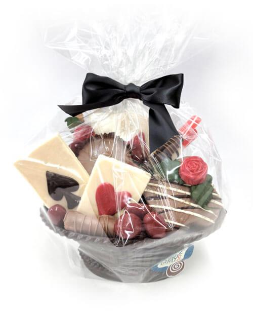 Custom chocolate basket