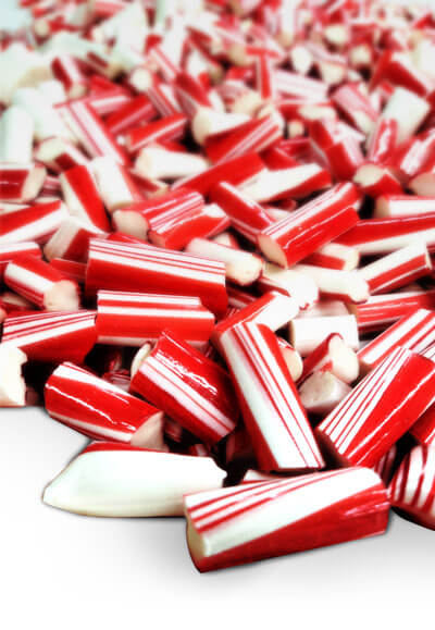 Peppermint candy in Lindale Texas